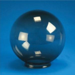 "Smooth Acrylic Smoke Sphere DIA- 8"" ID- 3.46"" OD- 3.94"" (Twist Lock)"