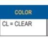 """Acrylic Clear Jelly Jar H- 6.00"""" W- 3.50"""" ID- 2.81"""" OD- 3.24"""" (Screw Neck)"""