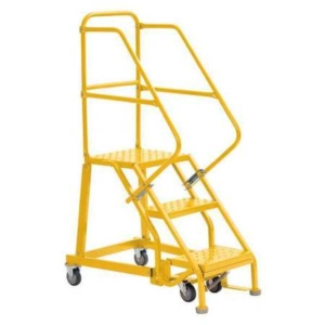 Louisville 3' Heavy-Duty Steel Warehouse Ladder 450lbs. Capacity