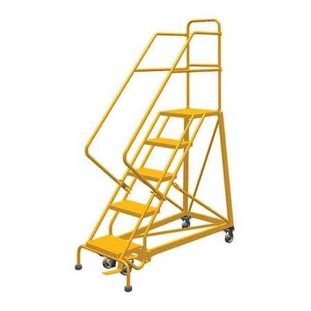Louisville 5' Heavy-Duty Steel Warehouse Ladder 450lbs. Capacity