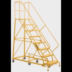 Louisville 7' Heavy-Duty Steel Warehouse Ladder 450lbs. Capacity