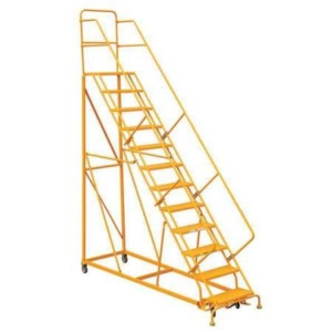 Louisville 12' Heavy-Duty Steel Warehouse Ladder 450lbs. Capacity