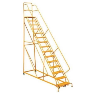 Louisville 15' Heavy-Duty Steel Warehouse Ladder 450lbs. Capacity