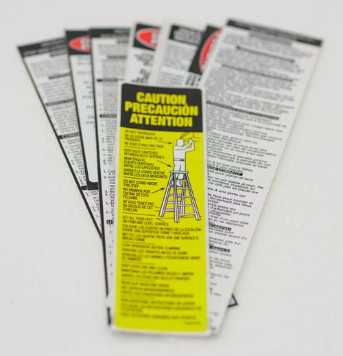 Louisville Ladder Label Kit FS1506