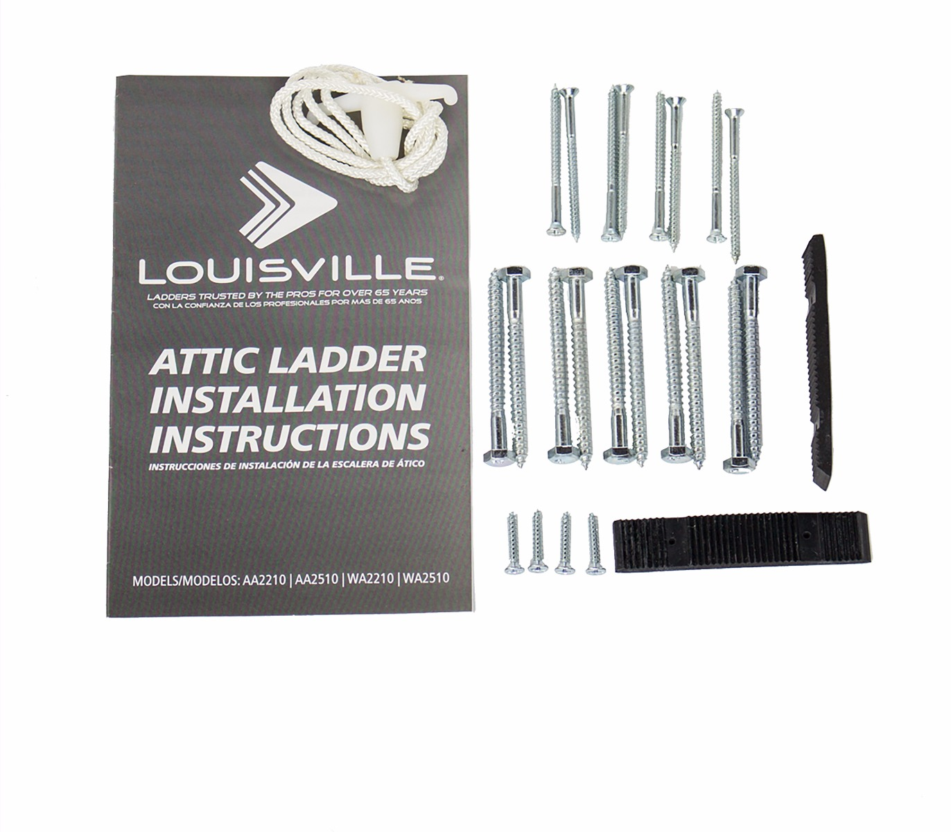 Louisville Ladder Hardware Kit