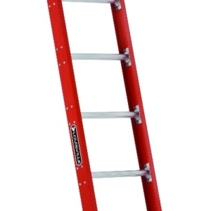 Louisville 10' Fiberglass Extension Single Ladder 300lbs. Capacity