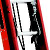 Louisville 24' Fiberglass Multisection Extension Ladder 300lbs. Capacity
