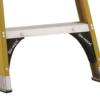 Louisville 4' Twin Front Fiberglass Ladder 375lbs. Capacity