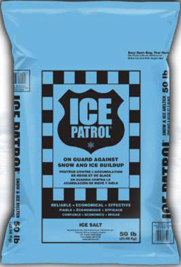 Ice Patrol Blue Ice Melt 50lbs Bag Customer Pickup Only Eastman